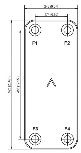 SWEP B120T plaat koeler