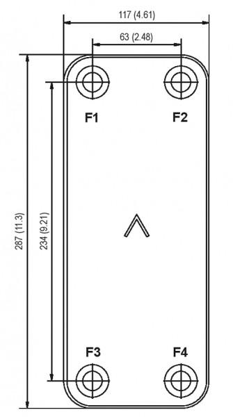 SWEP B12 plaat koeler