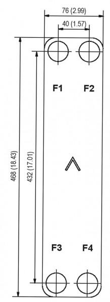 SWEP B15T plaat koeler