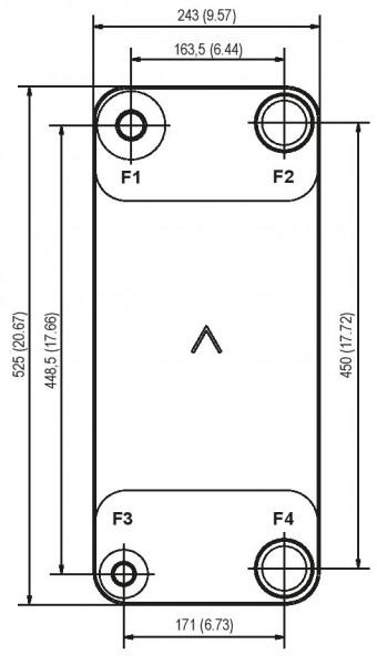 SWEP B200T plaat koeler