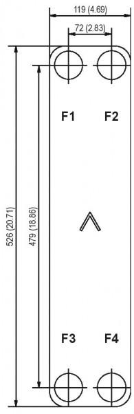 SWEP B25T plaat koeler