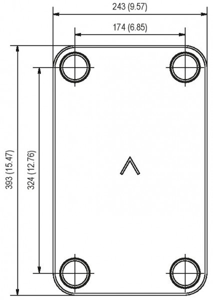SWEP B35 plaat koeler